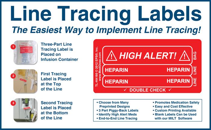 Line Tracing Labels