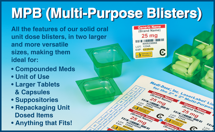 MPB Multi-Purpose Blisters