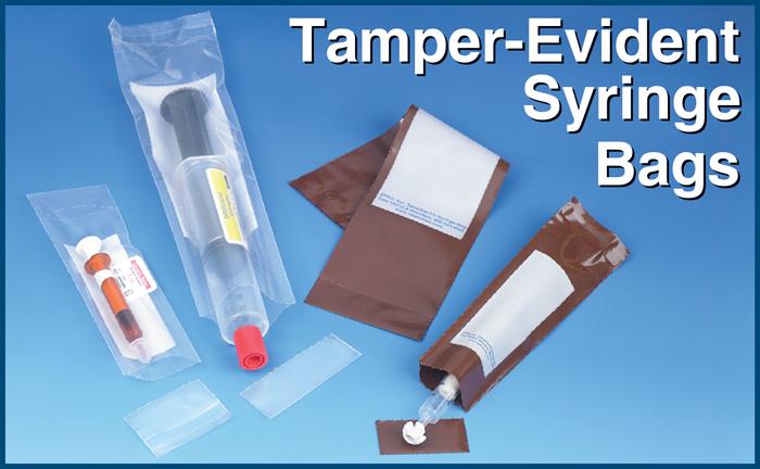 Tamper-Evident Syringe Bags