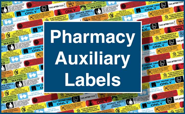 Pharmacy Auxiliary Labels
