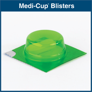 Medi-Cup Blisters