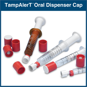 TampAlerT Oral Dispenser Cap