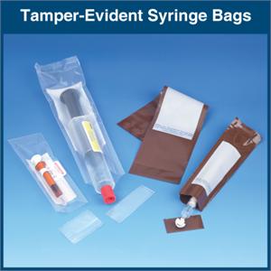 Tamper Evident Syringe Bags 1 000