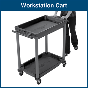 Mobile Utility Workstation Cart