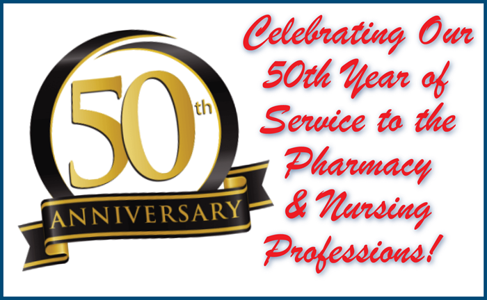 Celebrating Our 50th Year!