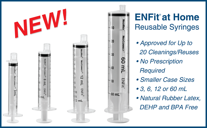 ENFit at Home Reusable Syringes