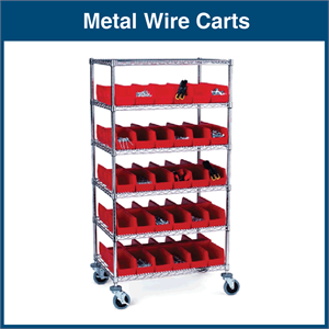 Metal Wire Carts