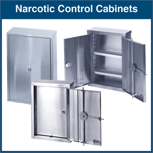 Narcotic Control Cabinets