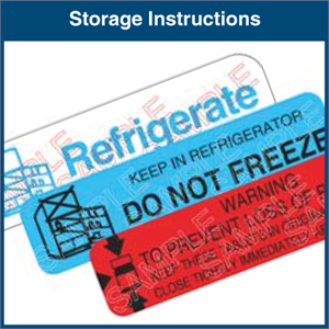 Storage Instructions
