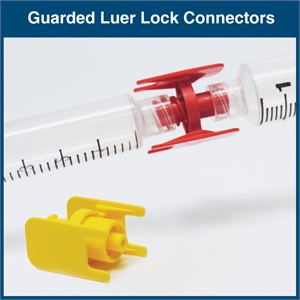 Guarded Luer Lock Connectors