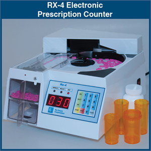 RX-4 Electronic Prescription Counter